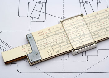 Slide Rule and Mechanical Drawing